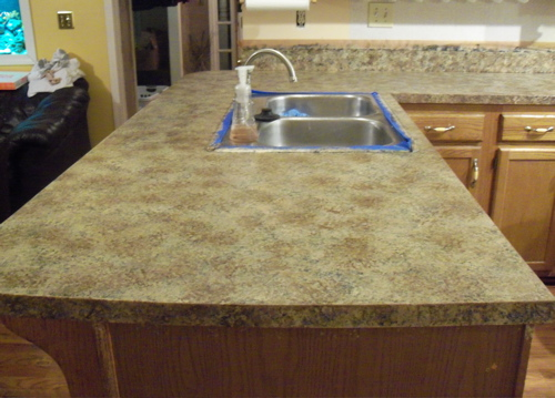 Kitchen Worktop Resurface Diy Crafts