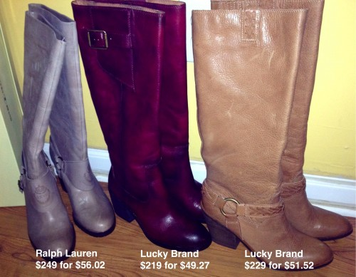 lucky and lauren boots