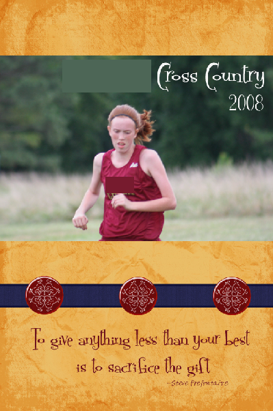 If ... & Cross Country Gifts for High School Seniors