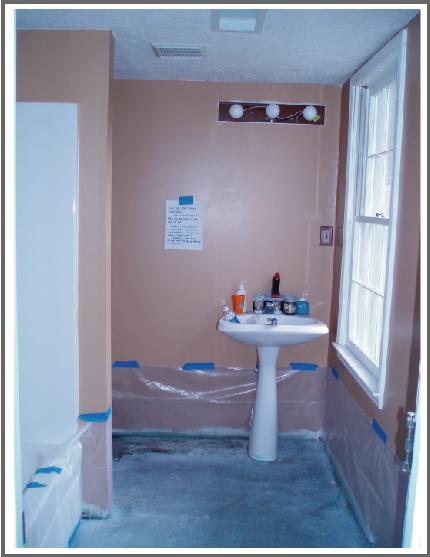prep bathroom